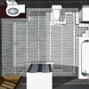 Slika 4/5 - Grijača mreža - postavljanje grijaće mreže u kupaoni
