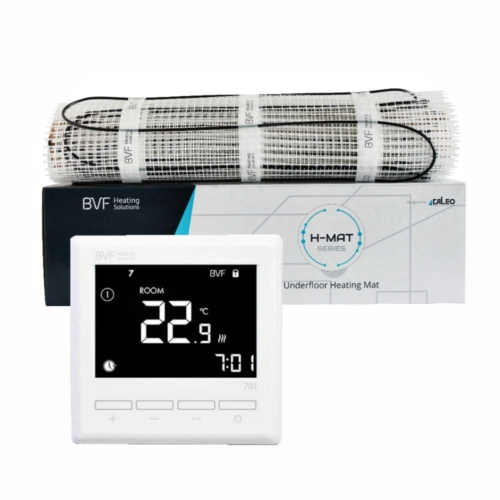 SET - Električna grijaća mreža 8 m2 ukupne snage 800W + digitalni termostat BVF 701 sa podnim senzorom