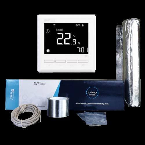 ALuminijska grijaća folija od 2 m2 - 200W u kompletu sa termostatom