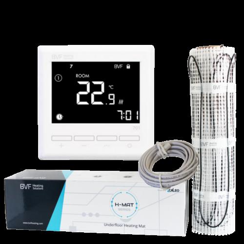 SET - Električna grijaća mreža 3,5 m2 sa 150W/m2 + digitalmni tjedni termostat BVF 701 sa podnim senzorom