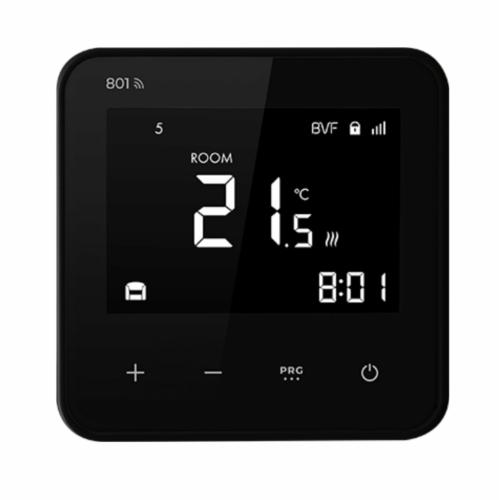 wifi termostat BVF801 crni